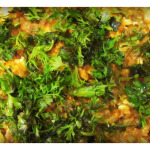 Egg Tadka Dal (Dal fry with scrambled egg)