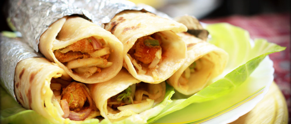Kolkata Chicken roll - Street Food Recipe