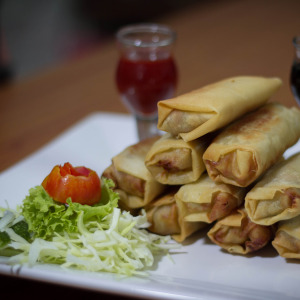chicken-spring-roll