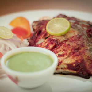 Tandoori Pomfret - Indian Grilled Fish
