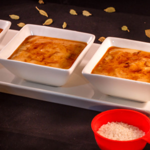 Nolen Gurer Payesh - Rice Pudding With Date Palm Jaggery