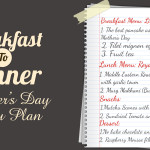 Mother's Day Menu plan (With Tastemade Collaborators)
