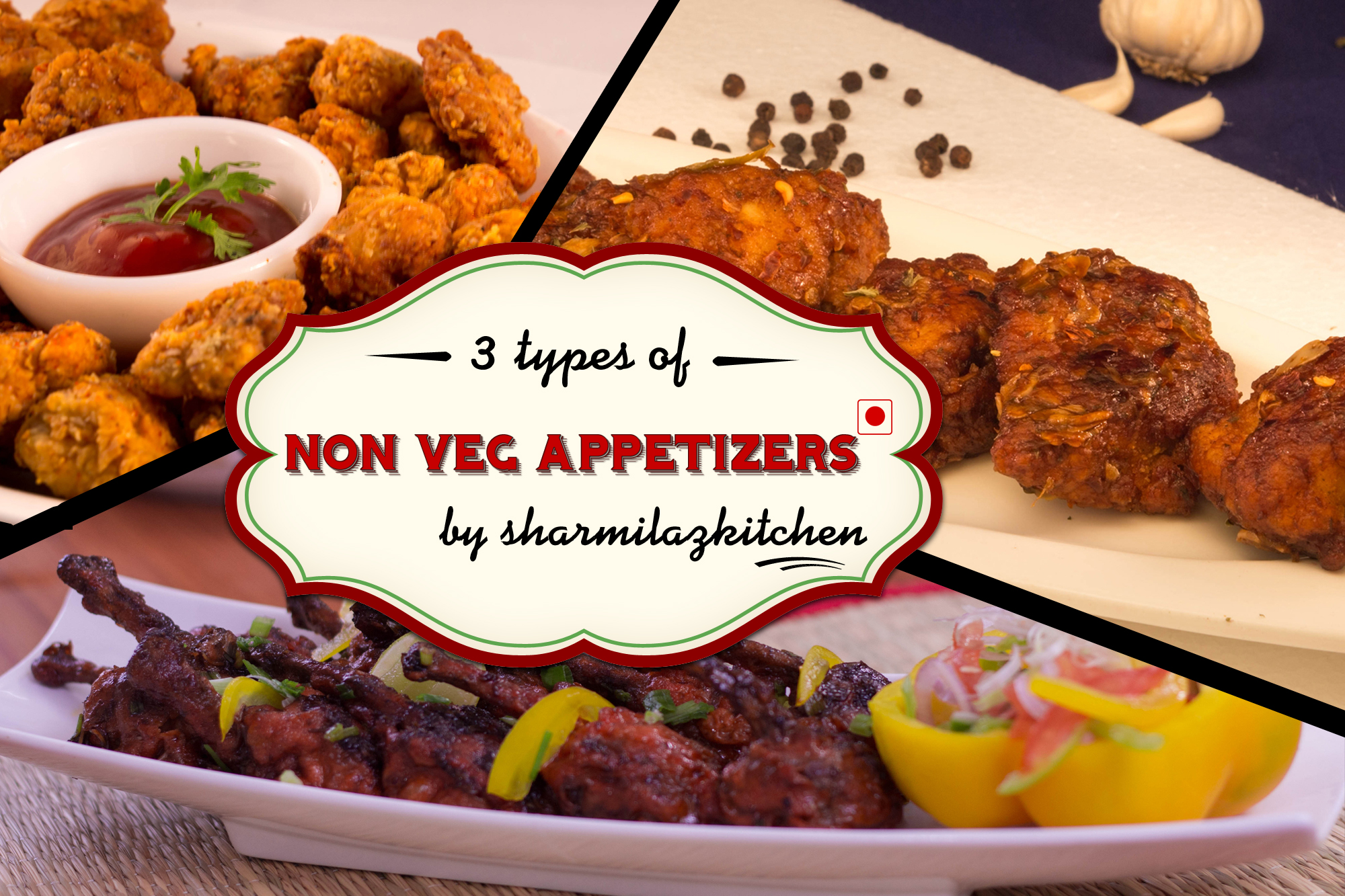 3 delicious non veg appetizers to start the party