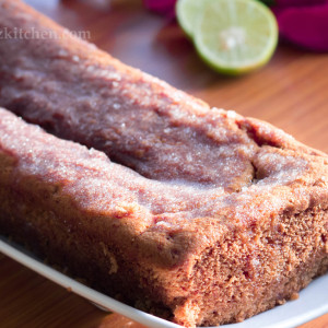 Lemon Tea Cake/ Madeira Cake - Super Moist & Egg Free (Eggless Baking)
