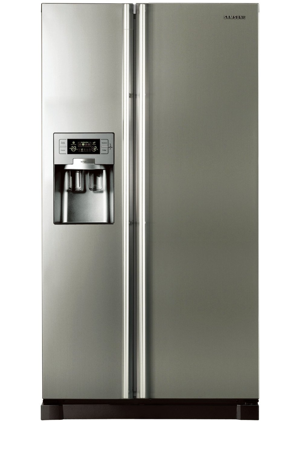 samsung rs21hutpn1 side by side refrigerator. Black Bedroom Furniture Sets. Home Design Ideas