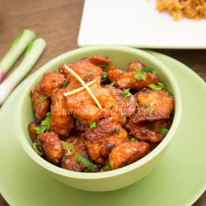 Ginger Prawns By Sharmilazkitchen (Video) | Indo-Chinese Appetizer