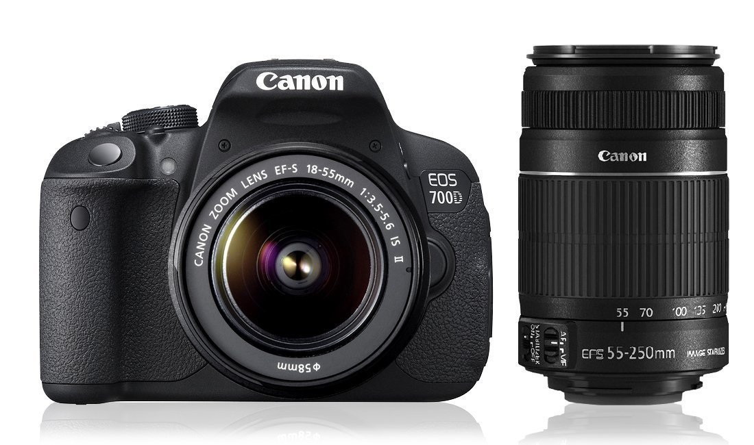 canon eos 700d 18mp digital slr camera black i use for. Black Bedroom Furniture Sets. Home Design Ideas