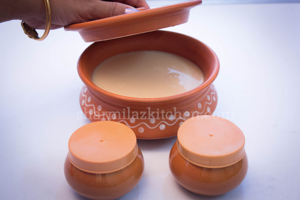 set mishti doi