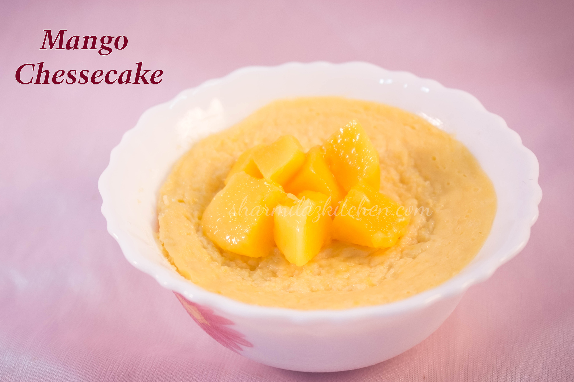 Microwave Cake Recipes In Bangla: Mango Cheesecake In Microwave In 2 Minutes