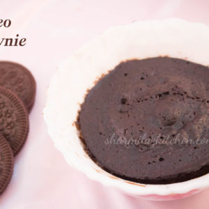 Oreo Brownie In Microwave In 2 Minutes - Sharmilazkitchen