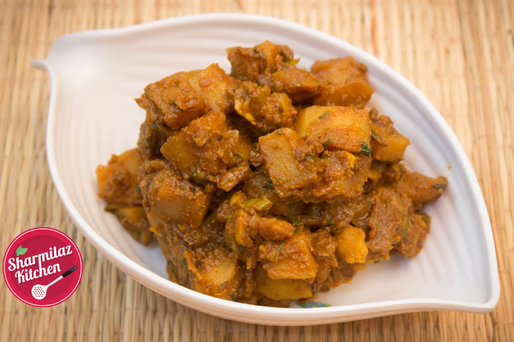 Spicy Dry Potato Curry
