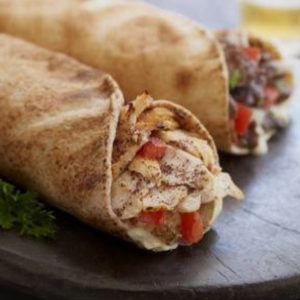 Homemade Chicken Shawarma Roll Recipe - Egg Shwarma Wrap - Arabic  Shwarma By Sharmilazkitchen