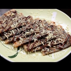 Chocolate Cheese Parantha | A Healthy Atta Recipe