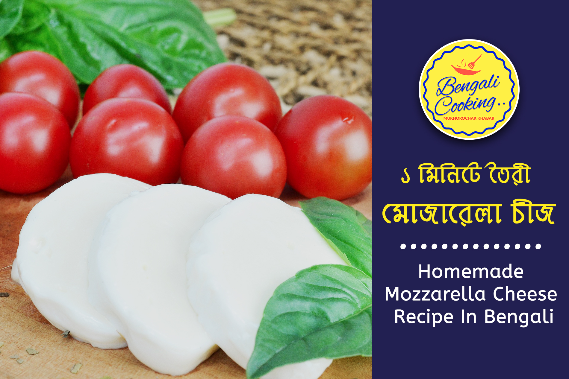 How To Make Mozzarella Cheese In 1 Minute Sharmilazkitchen